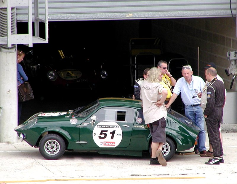 Mini Marcos 51 retired at Le Mans on Sunday