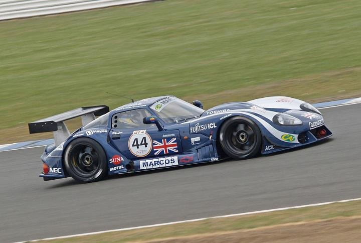 LM600's appearance at Silverstone was brief...