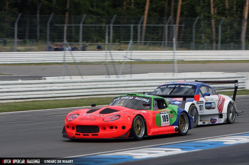 Euser/De Wit were second in the first race at Hockenheim