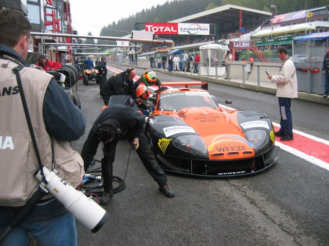 LM600 pitstop at Spa
