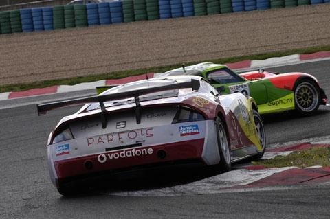 Mantis in the thick of it at Magny-Cours for the International Open