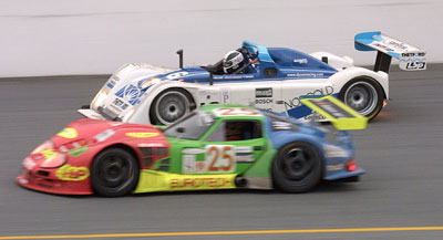 LM600s do battle at Daytona